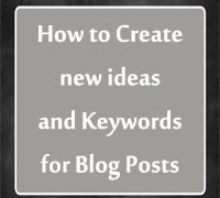Generate ideas for blog post