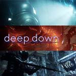 deep down play station 4 game