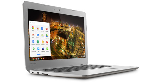 Toshiba Latest Google chrome book