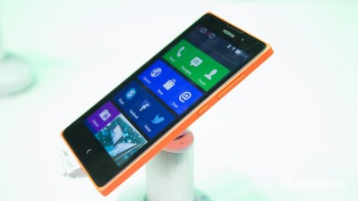 nokia x semi android phone