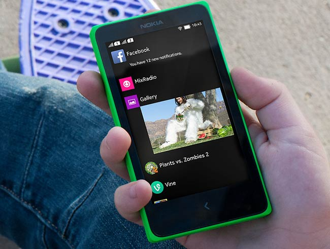 nokia x specification