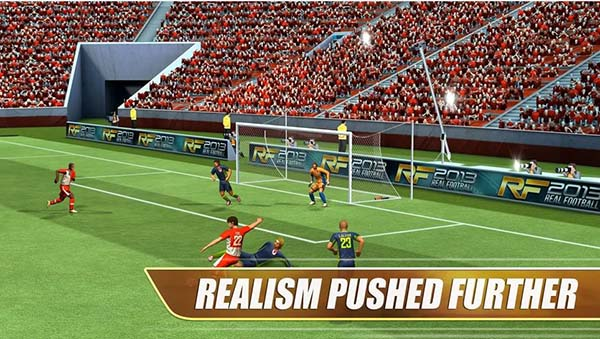 Real football games 2013 for Android