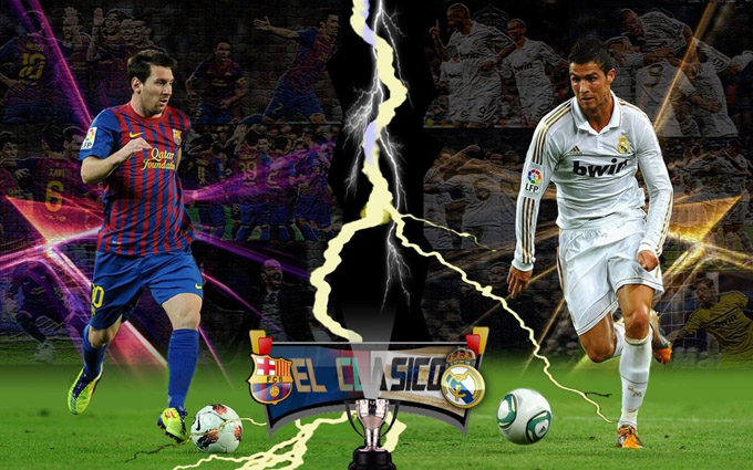 Messi vs Ronaldo FIFA world cup 2014