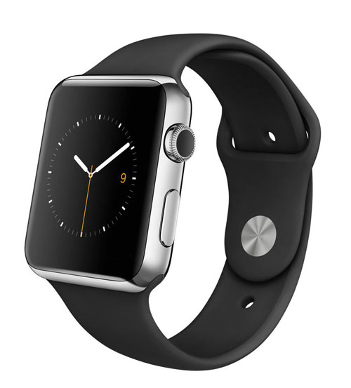 Apple Watch Black Sport Band