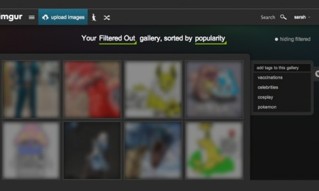 Imgur Tagging and Galleries Features