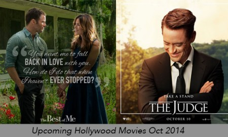 Upcoming Hollywood Movies for October
