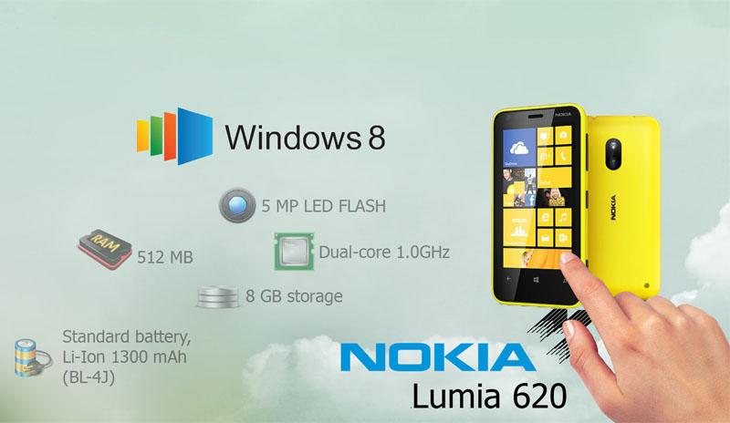 Nokia Lumia 620 Factory Reset