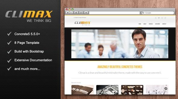 Climax Concrete5 themes