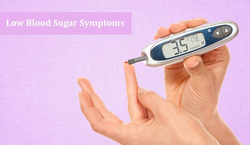 Low Blood Sugar Symptoms