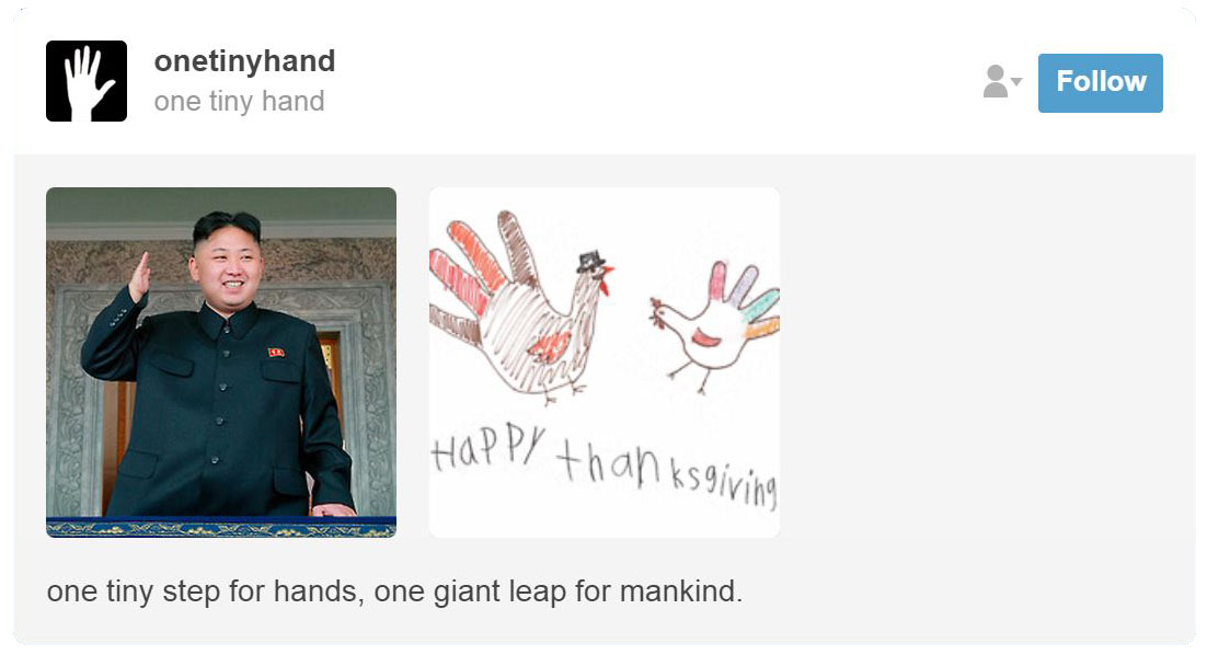 One Tiny Hand