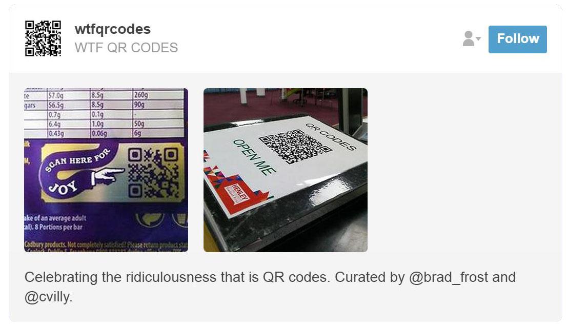 WTF QR Codes