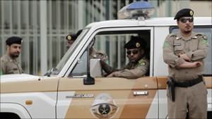 The police in Saudia