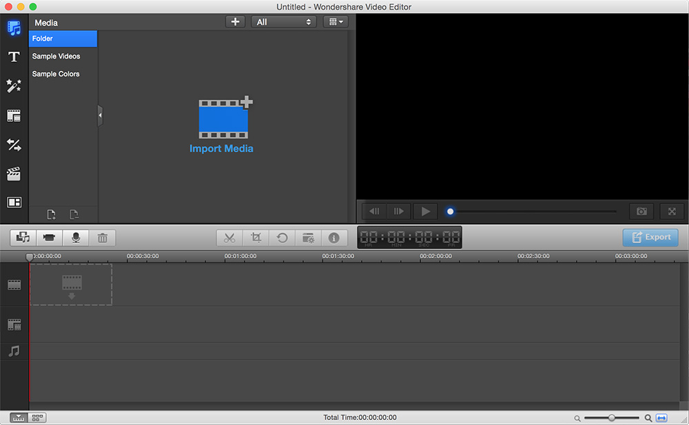 Professional Video Editor for Mac